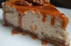 Cheesecake à la crème de marrons et au caramel beurre salé, la recette