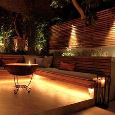Modern London Garden Screen
