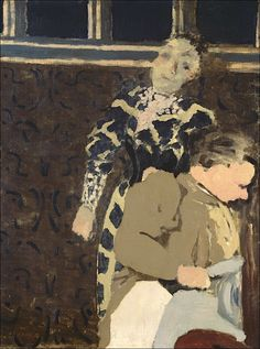 Edouard Vuillard (1868-1940) Marie rêveuse et sa mère