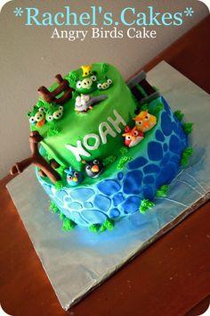 Angry Birds Cake Boy Birthday, Birthday Cakes, Birthday Ideas, Birthday Parties, Mini Cakes, Cupcake Cakes, Cupcakes, Bolo Angry Birds, Nautical Cake