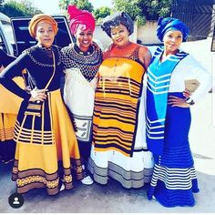 Xhosa Attire, African Attire, African Fashion Dresses, African Clothes, African Traditional Wear, Traditional Outfits, Curvy Women Fashion, Men's Fashion, Cool Style