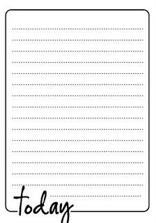 8 free downloadable cards-with and without lines; great for project life.  Melindascrap: Free tag!