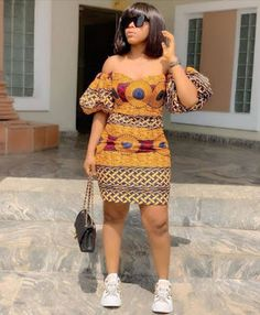 Looking for modern ankara styles to sew for your events? We have 30 latest Ankara style designs people are loving at this time you can look at. African Fashion Ankara, African Inspired Fashion, Latest African Fashion Dresses, African Print Fashion, African Style, African Prints, Nigerian Fashion, Africa Fashion, African Fabric