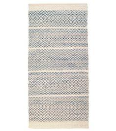 Mervi Pesonen: Usva-puuvillamatto, sininen matto puuvilla 140x200 159,-