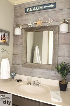 Small bathroom coastal