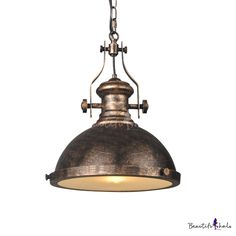 c499225bf18 Single Light Nautical LED Pendant with Glass Diffuser for Barn