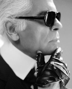 Karl Lagerfeld...the creative director at Chanel since 1983. His constant reinvention of the house's signature tweeds and pearls has the critics applauding season after season.