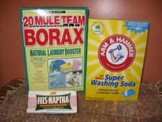Top 10 Most Creative Household Uses for Borax – Page 10 of 10 – DIY & Crafts. I have made homemade laundry detergent with borax