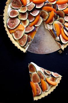 Fig, Apricot & Mascarpone Tart