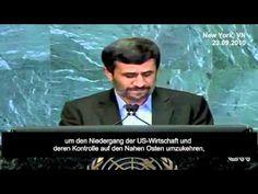 Die unbequeme Wahrheit zum 11. September vor der UNO - ausgerechnet von Mahmud Ahmadinedschad