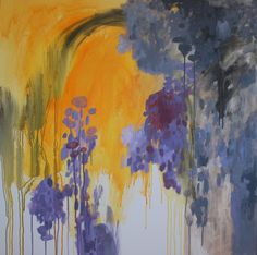 extra large original painting modern abstract, Kelly Witmer