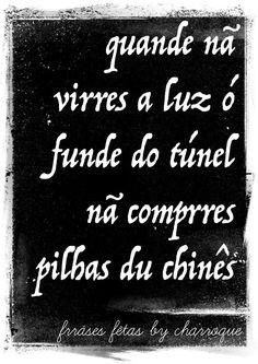 Frases dos Charroque da Prrofundurra