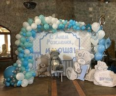 Baby Blocks Bears And Bowties Baby Shower Party Ideas