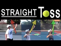 We're going to discuss some hurdles players face to get a straight and consistent toss. Over a decade of struggling with this, these tips have helped me over. Tennis Camp, Tennis Tops, Sport Tennis, Play Tennis, Soccer, Tennis Techniques, Tennis Videos, Tennis Serve, Bend And Snap