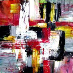 Feeling good, 2009, by Dan Bunea, living abstract paintings, www.danbunea.ro
