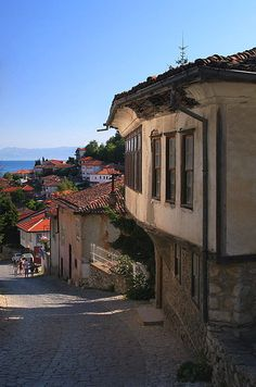 ohrid house & pathway by sergej