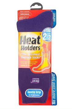 Heat Holders Thermal Socks, Women's Original, US Shoe Size 5-9 ** Check out the image by visiting the link.