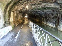 Tunnel cyclable sous la citadelle de Besançon
