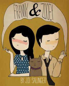 Franny & Zooey by J.D. Salinger, designed by Nan Lawson