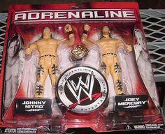 WWE JAKKS JOEY MERCURY & JOHNNY NITRO ADRENALINE 19 FIGURE by Jakks. Save 48 Off!. $12.99. This is an officially licensed WWE Jakks action figure. It is brand new.