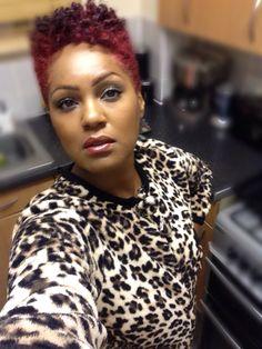 Natural Hair Red Hair... Short Natural Styles, Short Natural Haircuts, Short Styles, Tapered Natural Hair, Tapered Twa, Black Power, Look 2018, Sassy Hair, Natural Hair Journey