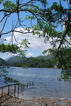 Image of Llyn Gwynant and Campsite
