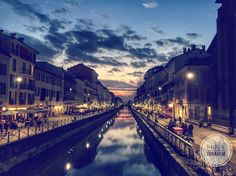 #Navigli #Milan #Navigli #night #cloud #sun #sunset #sunrise #sunshine #light #water #blue #street #art