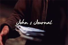 [gif] John's Journal #Supernatural