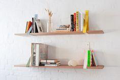 "2x Steel ""Sling"" shelf brackets by VaughanDesigns on Etsy https://www.etsy.com/listing/174792209/2x-steel-sling-shelf-brackets"