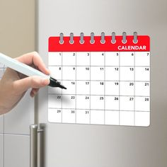 26239Fridge board Calendar magnetic