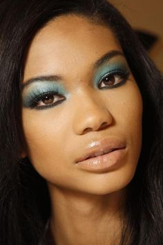 #blue #eyeshadow #beautiful
