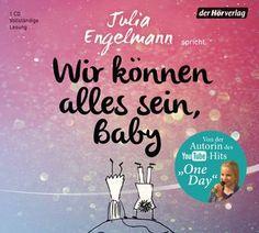 [Rezension] Wir können alles sein, Baby von Julia Engelmann [Hörbuch]  Mit einer Vortragsweise, welche sehr oft an einen Vortrag erinnert, schafft es die Autorin nicht immer mit ihren Slam-Texten zu überzeugen.