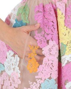 Lovely lace pastels.