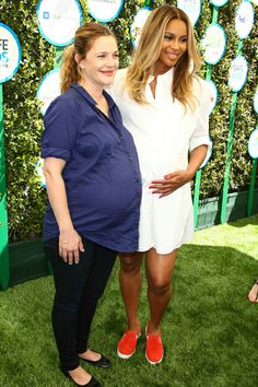 Celeb bump day: Drew Barrymore and Ciara compare baby bumps! Plus, Mila Kunis, Kristin Cavallari, Alyssa Milano, Snooki