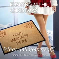 Fusion Graphic Mats Christmas. www.fusiongraphicmats.co.uk #fusiongraphic #personalised #christmas
