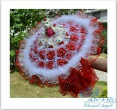 Cheap Teddy Bear And Roses Bouquet, find Teddy Bear And Roses ...