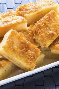Ono Butter Mochi Hawaiian Dessert Recipe with Coconut