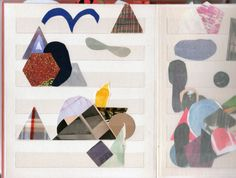 Julia Rosa Clark  Sketchbooks 2012/3 STAMP ALBUM 2 (SUN SUN)