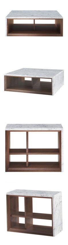 Evangelos Vasileiou Marble Wood Table