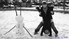 pupazzo a sorpresa - a snowman upside down!