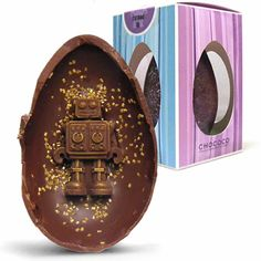 Chococo springtime easter egg a milk chocolate easter egg the chococo robot easter egg or to give it its proper title the c181 negle Images
