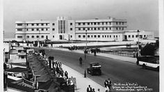 Midland Hotel Morecambe Art Deco Movement, Arts And Crafts Movement, Interesting Buildings, Beautiful Buildings, Midland Hotel, Morecambe, Postcard Art, Seaside Towns, Cumbria