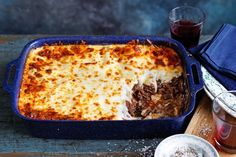 What's better than lasagne? Three hour slow-cooked beef cheek lasagne, that… What's better than lasagne? Three hour slow-cooked beef cheek lasagne, that's what. Slow Cooked Beef Cheeks, Slow Cooker Recipes, Cooking Recipes, Cooking Ideas, Beef Recipes, Lasagne Recipes, Pasta Recipes, Strata Recipes, Dinner Recipes