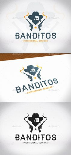 Outlaw Logo Template PSD, Vector EPS, AI Illustrator. Download here: https://graphicriver.net/item/outlaw-logo-template/17497644?ref=ksioks