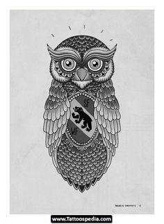 Owl Tattoo Meaning | Owl%20Tattoo%20Designs 04 Owl Tattoo Designs 04