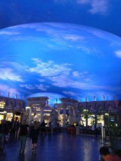 clouds on ceiling - Picture of Forum Shops at Caesars Palace, Las Vegas - Tripadvisor Nevada, Las Vegas Pictures, Cloud Ceiling, Caesars Palace, Trip Advisor, Clouds, Photo And Video, Ceilings, Shops