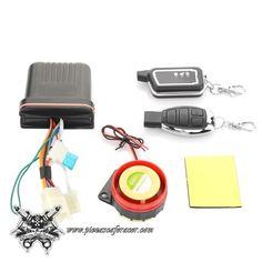 Motorcycle Bike Security Alarm System Immobiliser Remote Control Engine Start Y2