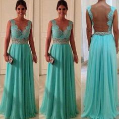 Amazing turquoise dress