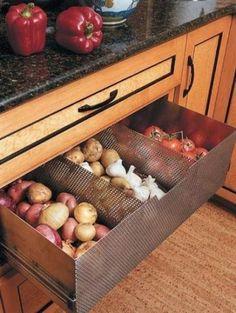 Ventilated Produce Drawer - nousDECOR