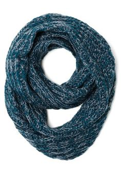 Seasonal Inspiration Circle Scarf in Winter, #ModCloth